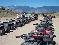 Reno atv riding, Sierra Adventures, Nevada, NV