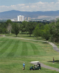 Reno golfing, Sierra Adventures, Nevada, NV