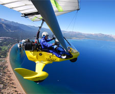 Reno, hang gliding, flying, Sierra Adventures, Nevada, NV