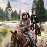 horseback riding, Sierra Adventures, Reno, Nevada, NV