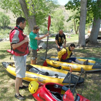 kayaking, Truckee River, Sierra Adventures, Reno, Nevada, NV