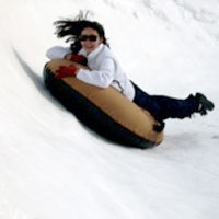 Snow tubing, Sierra Adventures, Reno, Nevada, NV