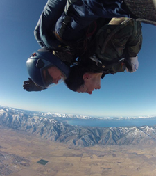Reno Sky Diving, Tandem, Sierra Adventures, Nevada, NV